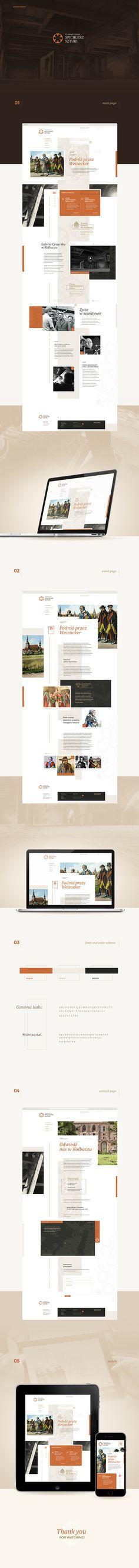 Spichlerz Sztuki (Art Granary) | website redesign on Behance