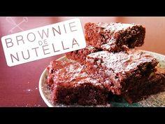 Brownie de Nutella - Confissões de uma Doceira Amadora - YouTube