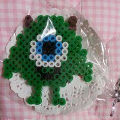 Mike Monsters Inc perler beads by mihee87