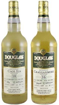 Caol Ila 18 Year Old Single Malt Scotch Whisky & Cragganmore 16 Year Old Single Malt Scotch Whisky