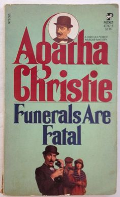 Funerals Are Fatal (aka: After the Funeral) by Agatha Christie (1954 Paperback)