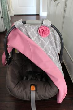 Car Seat Canopy - I like these colors