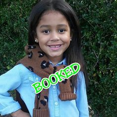 SUPER CONGRATS to @official_bryanna_sofia on her FIRST BOOKING...and it's for a DISNEY COMMERCIAL