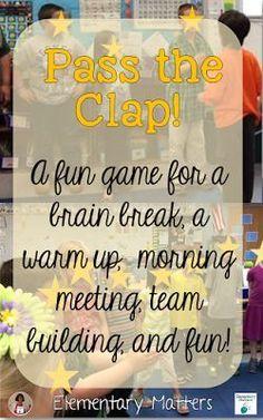 Pass the Clap - A Fu