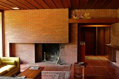 Weltzheimer Johnson House. Oberlin, Ohio. Frank Lloyd Wright. Usonian Style. 1949