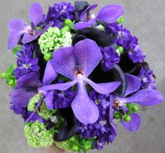 Stunning orchid bouquet