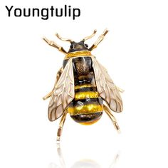 Young tulip Enamel Bee Brooches Unisex Insect Brooch Pin Women and Men Jewelry Cute Small Badges Fashion Jewelry Wholesale Price  // Price: $US $1.97 & FREE Shipping //  Buy Now >>>https://www.mrtodaydeal.com/products/young-tulip-enamel-bee-brooches-unisex-insect-brooch-pin-women-and-men-jewelry-cute-small-badges-fashion-jewelry-wholesale-price/  #Best_Buy