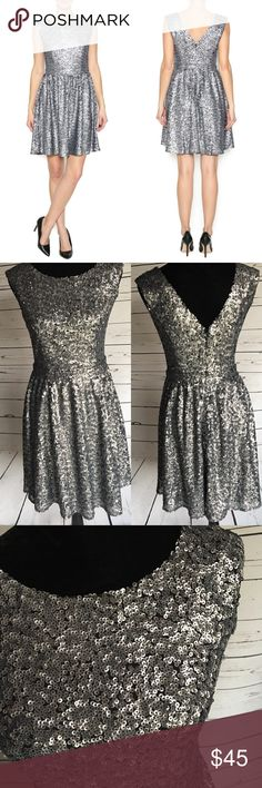 118ffd9d9e2 Adelyn Rae dress sequin fit and flare small Gorgeous