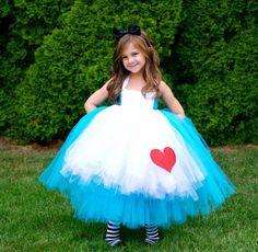 Alice In Wonderland Tutu Halloween Costume/Dress