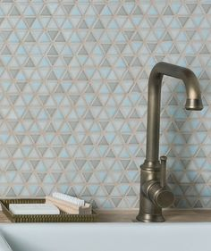 Templo™ Sky Mix Mosaic Tile | Topps Tiles