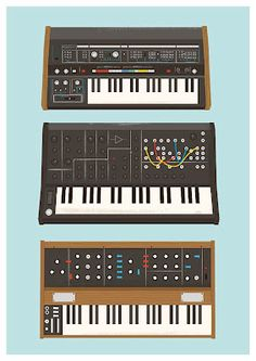 synthesizers.  http://www.bestmidicontrollers.org