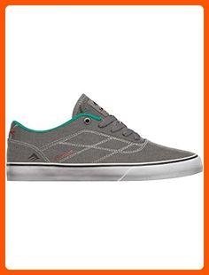 Emerica Men's The Herman G6 Vulc Grey/Green 7 D - Medium - For all the skaters (*Amazon Partner-Link)
