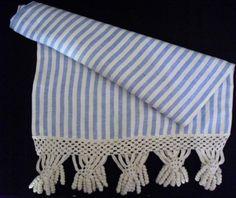 Camino de mesa en algodón
