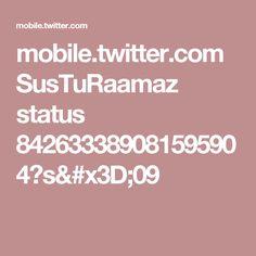 mobile.twitter.com SusTuRaamaz status 842633389081595904?s=09