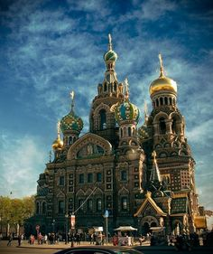 Church on Spilt Blood or Church of the Savior on Spilled Blood (Храм Спаса на Крови), St-Petersburg, Russia  I had not been in this church before because