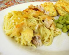 Chicken Tetrazzini - use a rotisserie chicken for a quick dinner