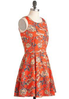 Rose to the Sun Dress, #ModCloth