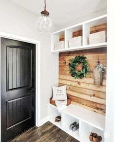 Home Renovation, Home Remodeling, Flur Design, Better Homes, My Dream Home, Mudroom, Home Projects, Building A House, Sweet Home
