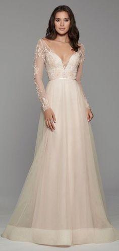 Courtesy of Tara Keely Wedding Dresses from JLM Couture; www.jlmcouture.com/tara-keely; Wedding dress idea. #weddings #weddingdressideas