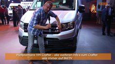 Crafter 2016 Weltpremiere bei VW  - Wir waren dabei - BKF TV vor Ort