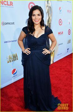 America Ferrera in Carlos Miele | 2012 ALMA Awards