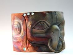 Eagle Bracelet by Nicholas Galanin (Tlingit/Aleut)