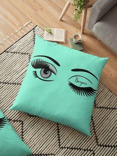 « Eye, eyes, eyelashes, oeil, yeux, cils, sourcils, bonjour » par LEAROCHE Eyelashes, Throw Pillows, Art, Bonjour, Eyebrows, Cushions, Eyes, Toss Pillows, Art Background