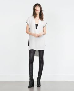 TWO-TONE TUNIC-View all-Woman-NEW IN | ZARA United States