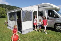 Fiamma Awning F45 Is Awnings Most Popular Wind Out Van
