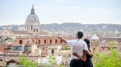 Surprising engagement in Rome Pallavi&Ricky | by photographer Artur Jakutsevich based in Rome, Italy