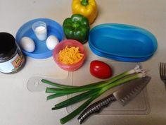 Patty's TW Recipes: Tupperware Breakfast Maker Omelet