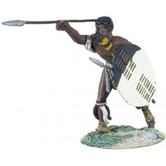 Zulu Warrier Throwing Spear No.1