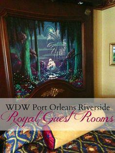 Walt Disney World Port Orleans Riverside Resort's Royal Guest Rooms | mmmisformommy