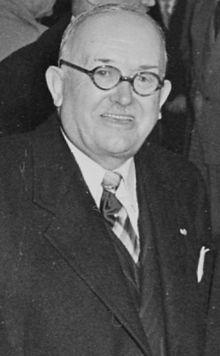 Vincent Auriol, le 28 mars 1951. 16ème président