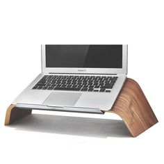 Grovemade laptop stand: Good for your laptop and your wrists.