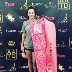 Congratulations Dixie on finding your gorgeous Jovani gown for Cuero prom!We can't wait to see photos! We know you will rock that dress for prom! Thank you for choosing All About The Dress as your Prom go to#allaboutthedress #aatdbeauty #jovani #prom2017 http://ift.tt/2pdWrqX - http://ift.tt/1HQJd81