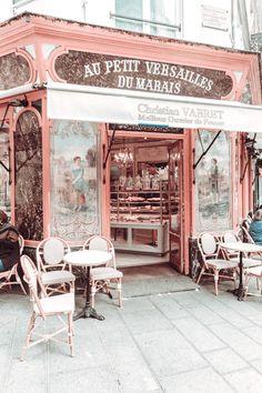 Paris 3, Paris Cafe, Pink Paris, Paris Summer, Versailles, Art Parisien, Travel Wall Art, France Art, Paris Photography