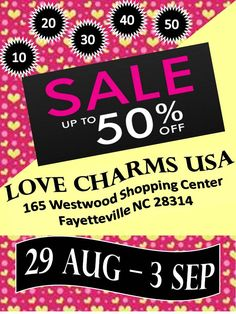CURRENT CONTESTS AND COUPONS, COME ON IN FOR SALES, 10% MILITARY ALL THE TIME. $2 Tuesday, Love Charms USA was opened in December of 2014. We love our customers and appreciate their business. We are a completely hands on store, we want you to come in and build something beautiful. Lockets and bracelets make the perfect custom gift to let that special someone know you took the time to create it special for them. European Charm Bracelets Our Beads fit Pandora and all other charm bracelets…