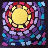 Animal shapes and a sun! Check out student artwork posted to Artsonia from the Thomas - Abstract Sun (The Eclipse) project gallery at Barley Sheaf School. Alma Thomas, Kindergarten Art Projects, 2nd Grade Art, Art Premier, Preschool Art, Art Lesson Plans, Art Classroom, Art Plastique, Elementary Art
