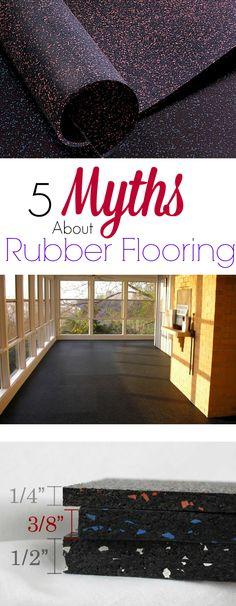 8mm Strong Rubber Rolls Designer Series Rubber flooring Gym