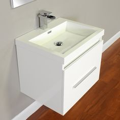 ALYA-AT-8006-W Modern Bathroom Vanity | White