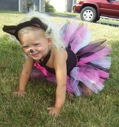 Kitty Cat Tutu Halloween Costume CUSTOM MADE 6 by monkeybusiness10, $38.00