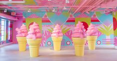 Miami's Museum of Ice Cream Is Finally Here and It's Glorious #purewow #entertainment #dessert #food #ice cream #local pride #culture #museum