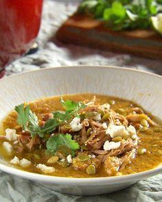 Green Chile and Tomatillo Pork Stew Recipe