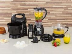 Kit Gourmet Mondial com Liquidificador + Batedeira - Espremedor