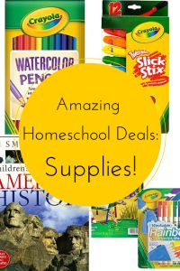 Amazing Homeschool Deal of the Day: Supplies!
