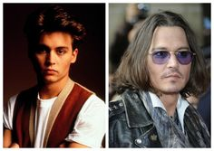 Depp then and now