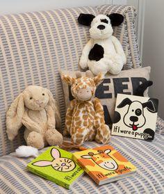 stuffed animal gift set
