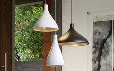 Take a closer look at the design of the Swell pendant series by Pablo Designs.