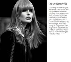 Rounded Bangs